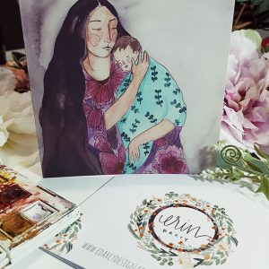 Moon Mother {Card}