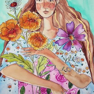 Garden Girl – Limited Edition Fine Art Print