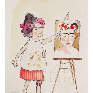 Rebel Girl – Frida Kahlo